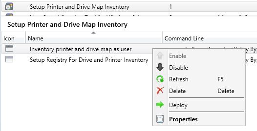 Inventory Mapped Network Printers and Drives With SCCM